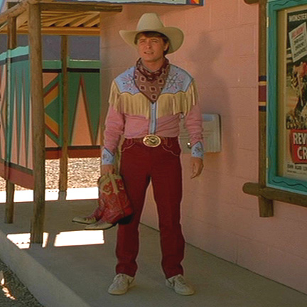 Back To The Future Part 3 BTTF Marty McFly 1885 Western Trousers