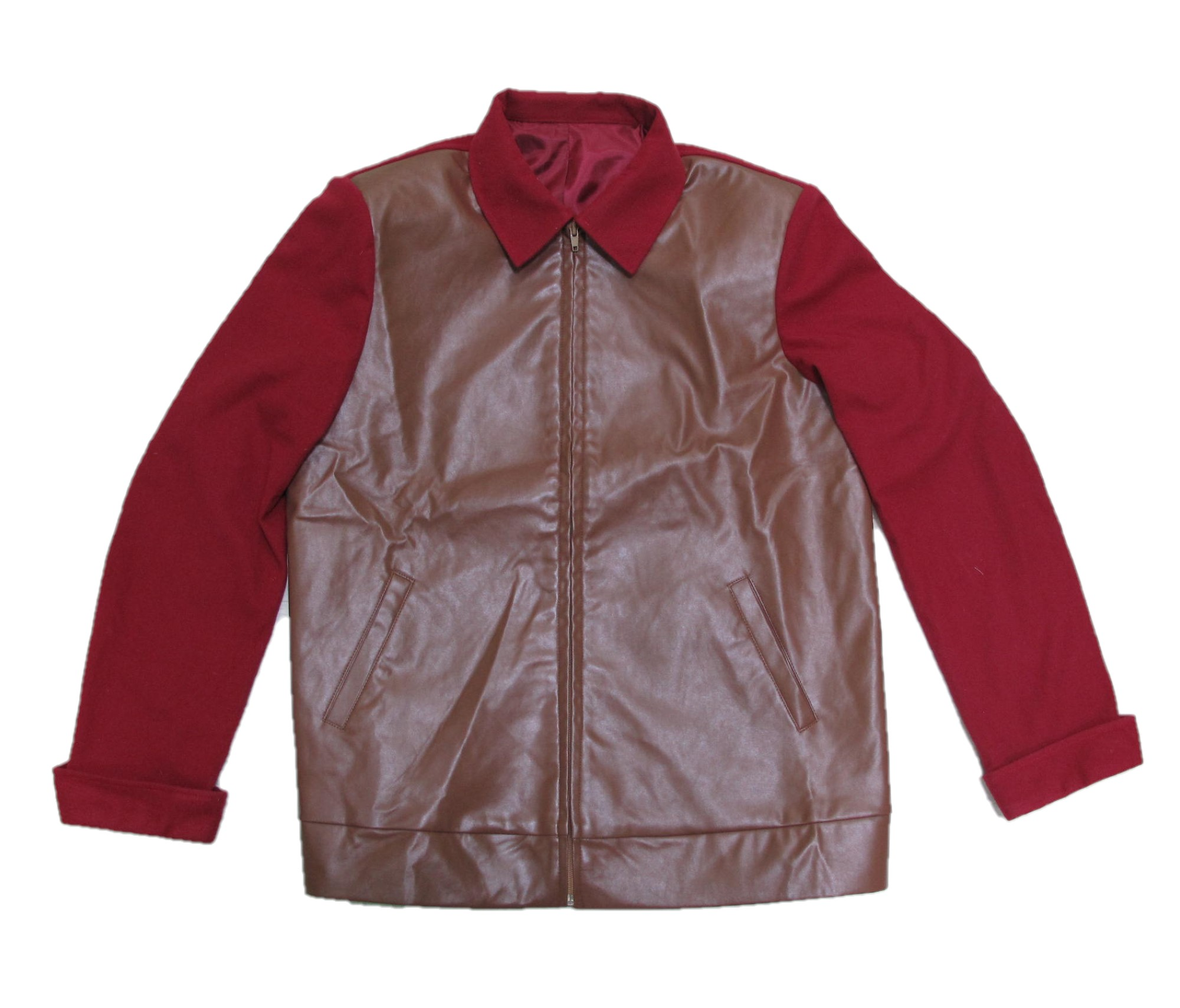 Back To The Future BTTF Marty McFly 1955 Maroon Jacket
