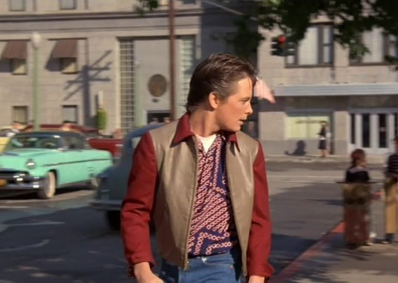 Back To The Future BTTF Marty McFly 1955 Shirt