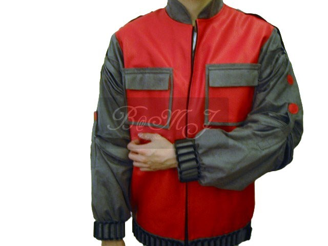 Back To The Future BTTF Marty McFly 2015 Red Jacket