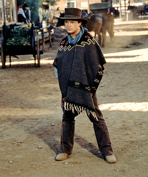 Back To The Future BTTF Marty McFly 1885 Poncho