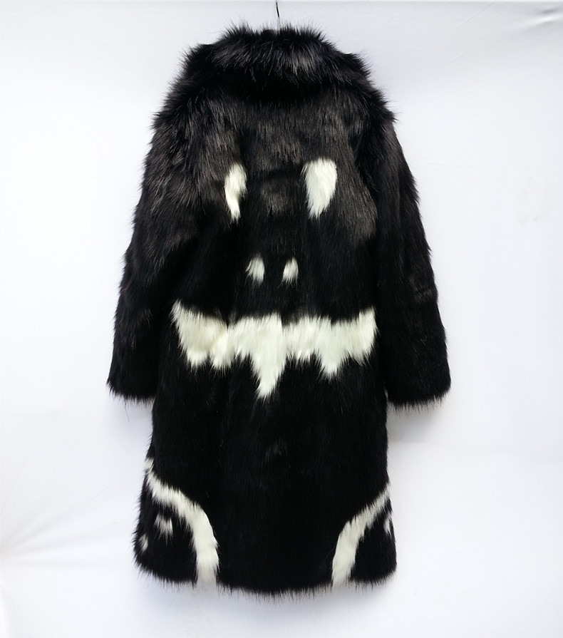 BigBang G Dragon Crooked MV Devil Face Fur Jacket