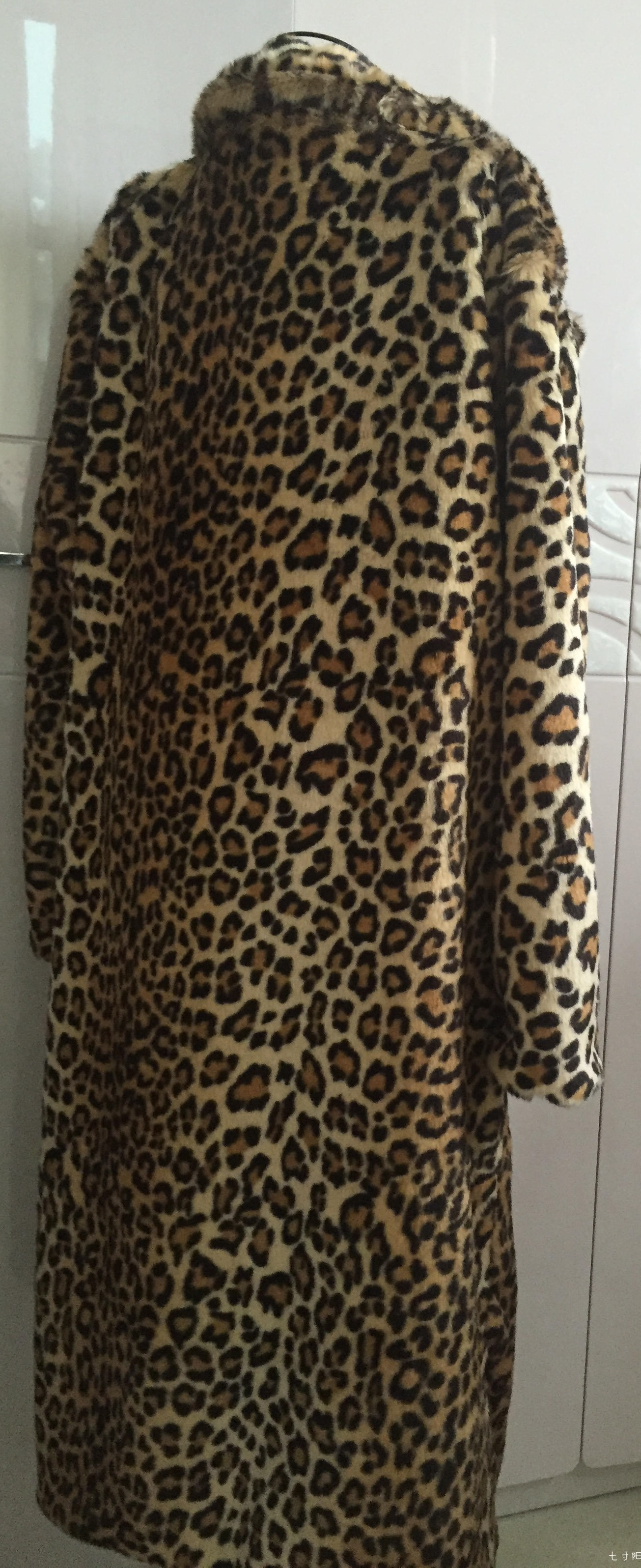 BigBang G Dragon MV Leopard Fur Jacket