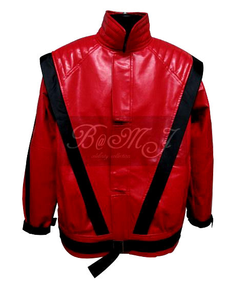 Michael Jackson Red Thriller Jacket