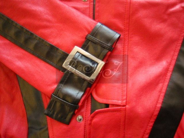 Michael Jackson Red Thriller Jacket