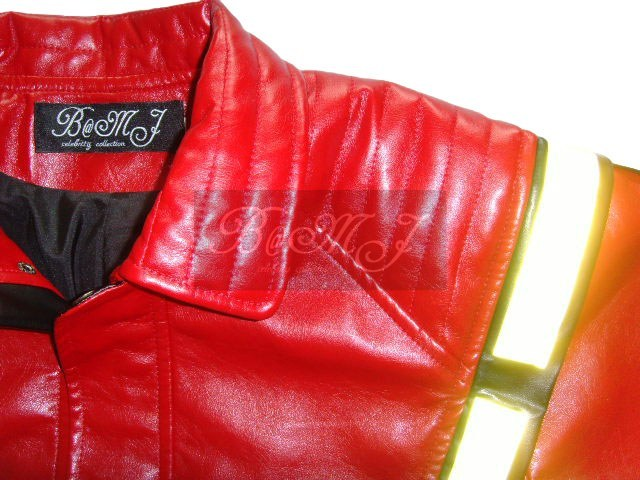 Michael Jackson Thriller Jacket Red & Yellow Reflective