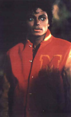 Michael Jackson Thriller Red and Yellow Wool Jacket