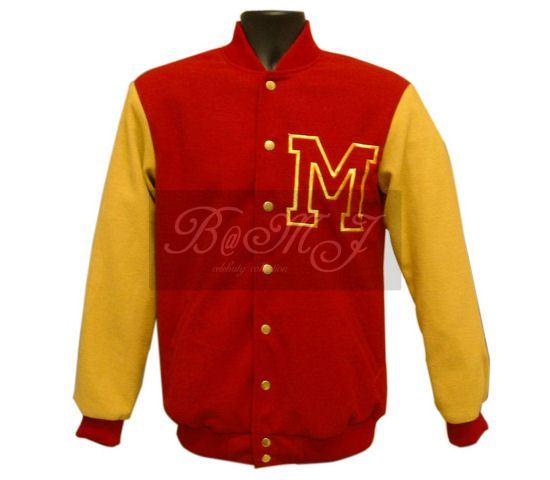 Michael Jackson Thriller Wolf Jacket in Red and Yellow Wool